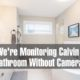 How We're Monitoring Calvin in the Bathroom Without Cameras